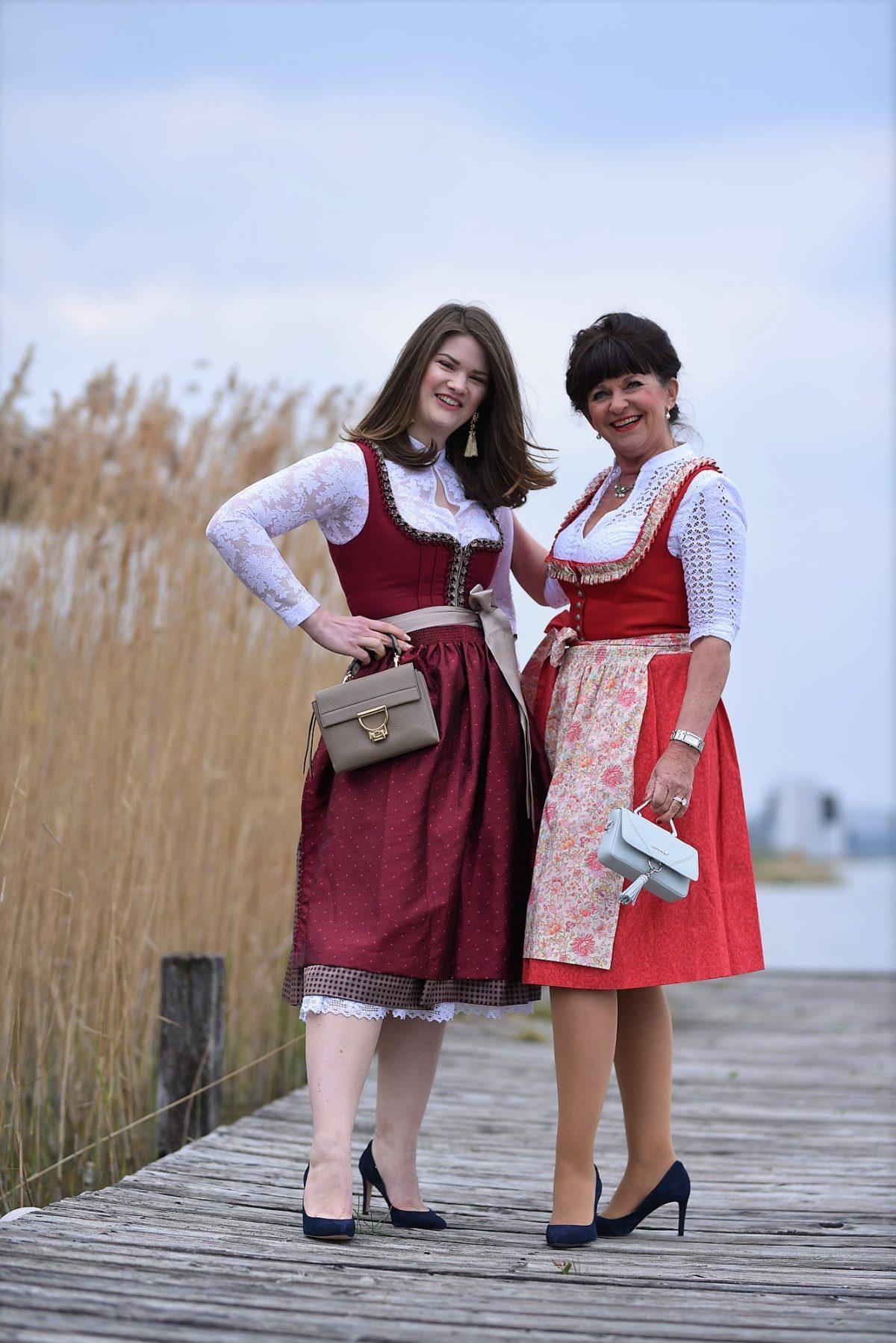 Tini und Rebecca Dirndl