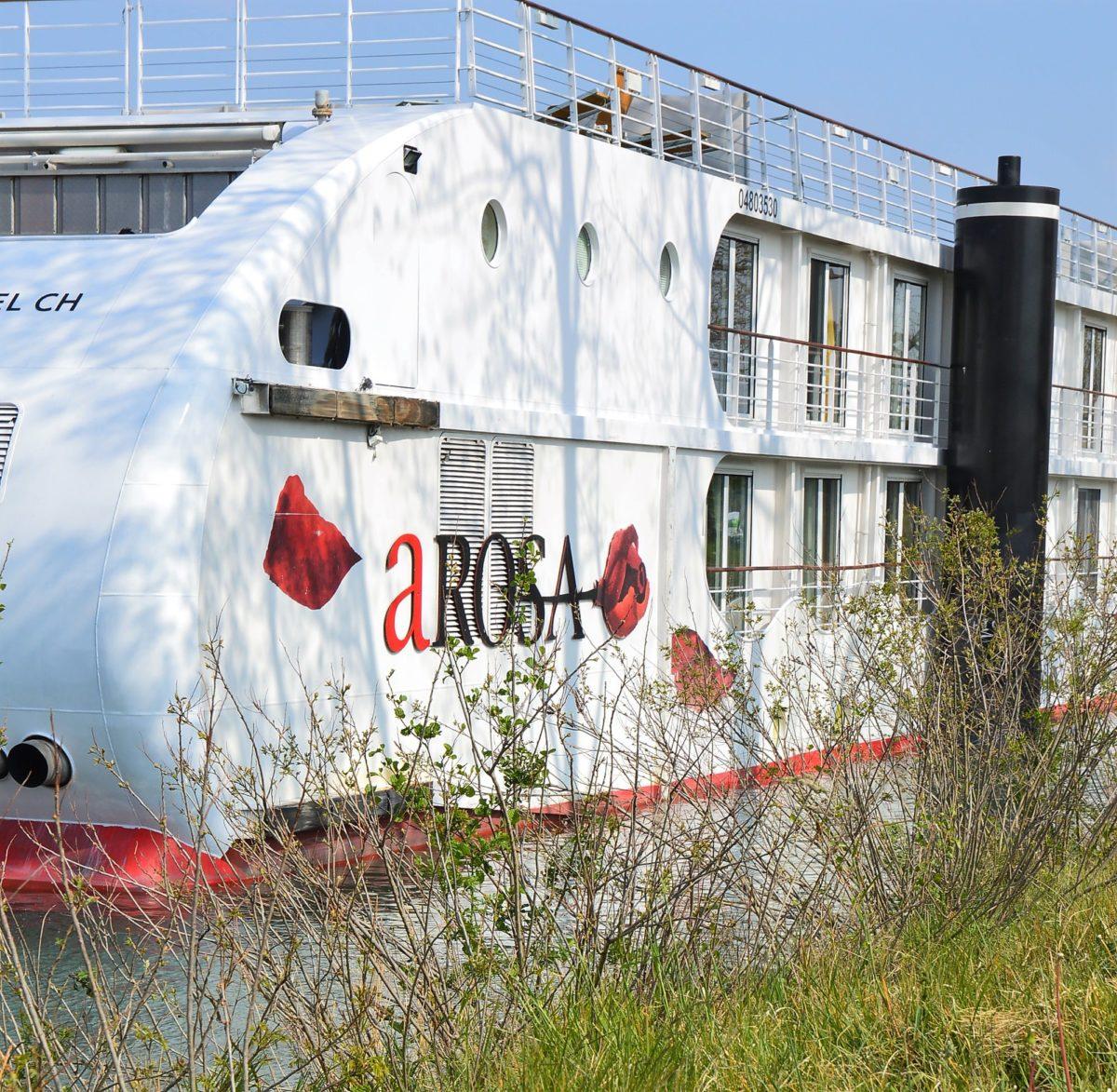 A-ROSA LUNA von außen