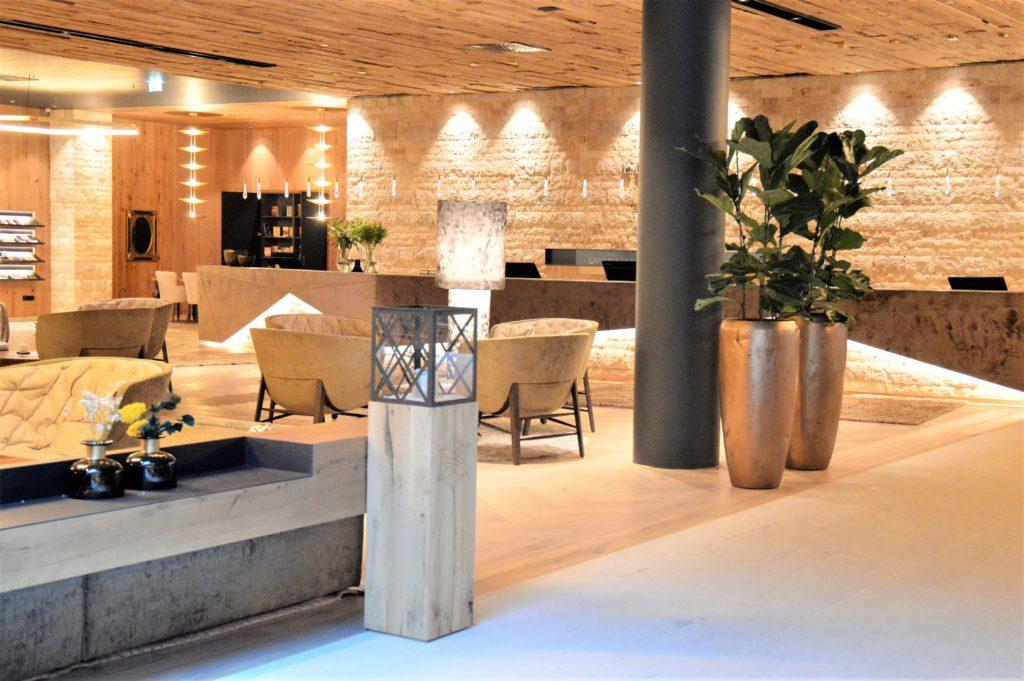 Loungebereich im EDELWEISS