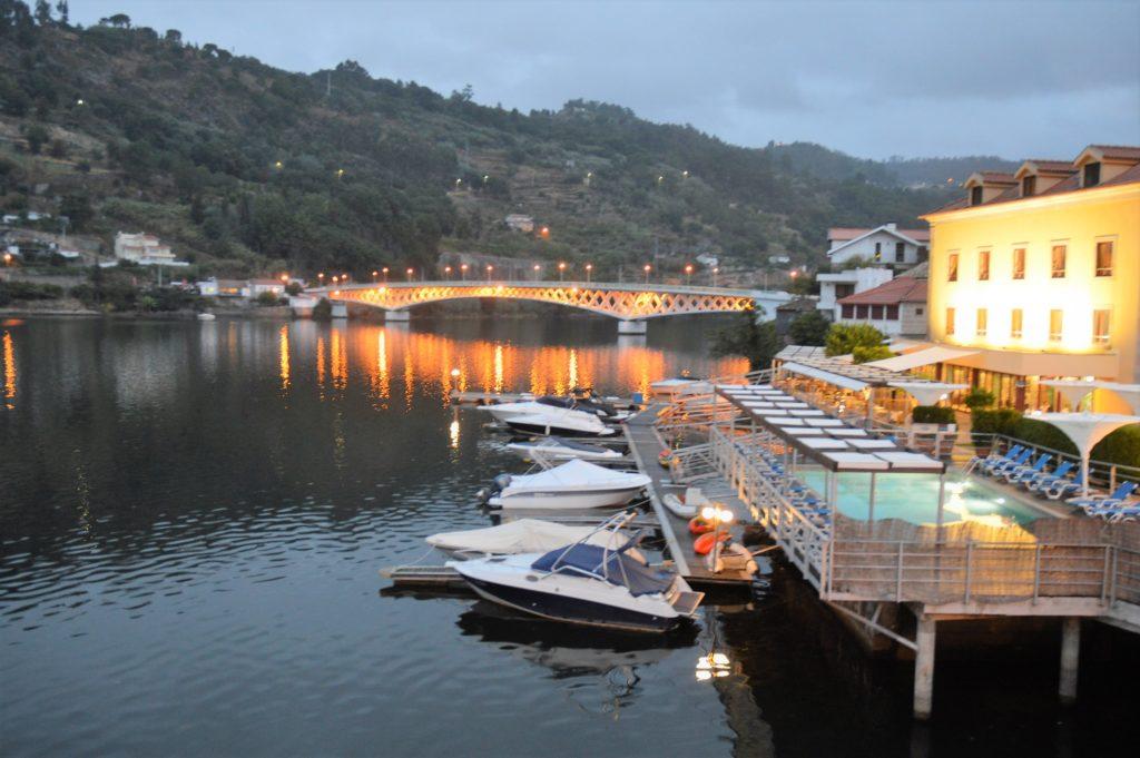 Hafen am Abend Douro