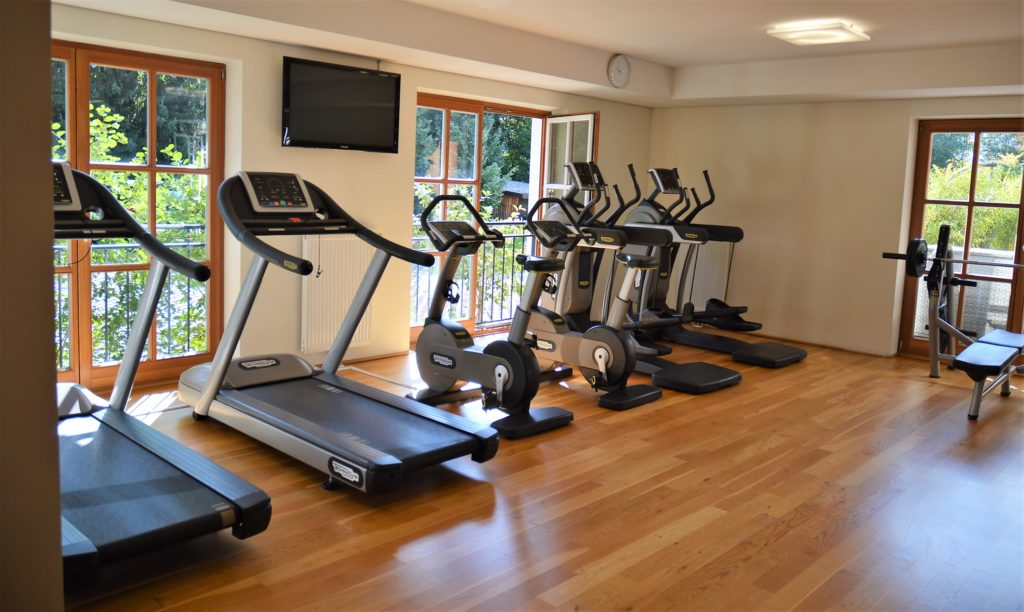 Fitnessraum im Q!Resort