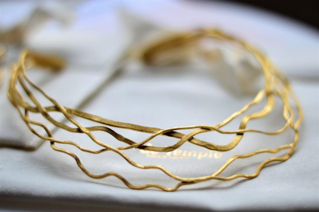 Collier in Gold von De Temple