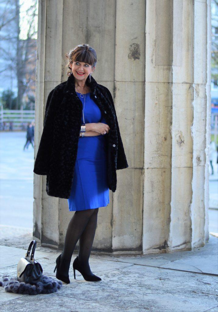 MONA Kleid mit Mantel