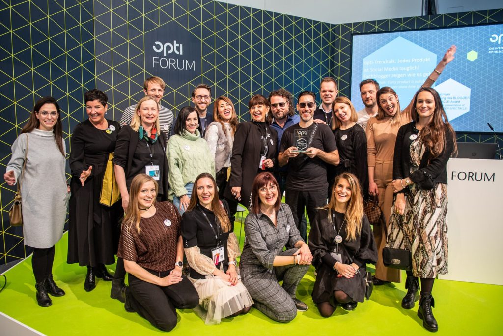 OPTI 2020 Messe München – Blogger Spectacle