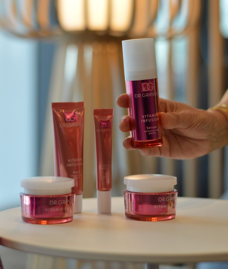 Neue Kosmetiklinie VITAMIN INFUSION von Dr. Grandel