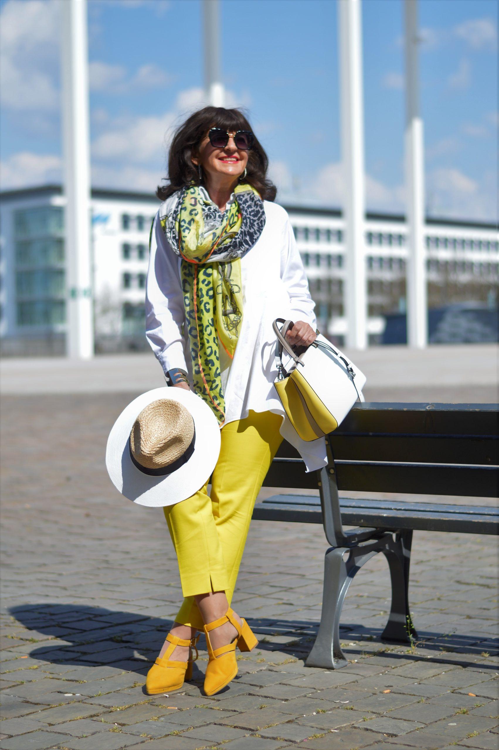farbberatung: welcher typ kann gelb tragen? - martina berg