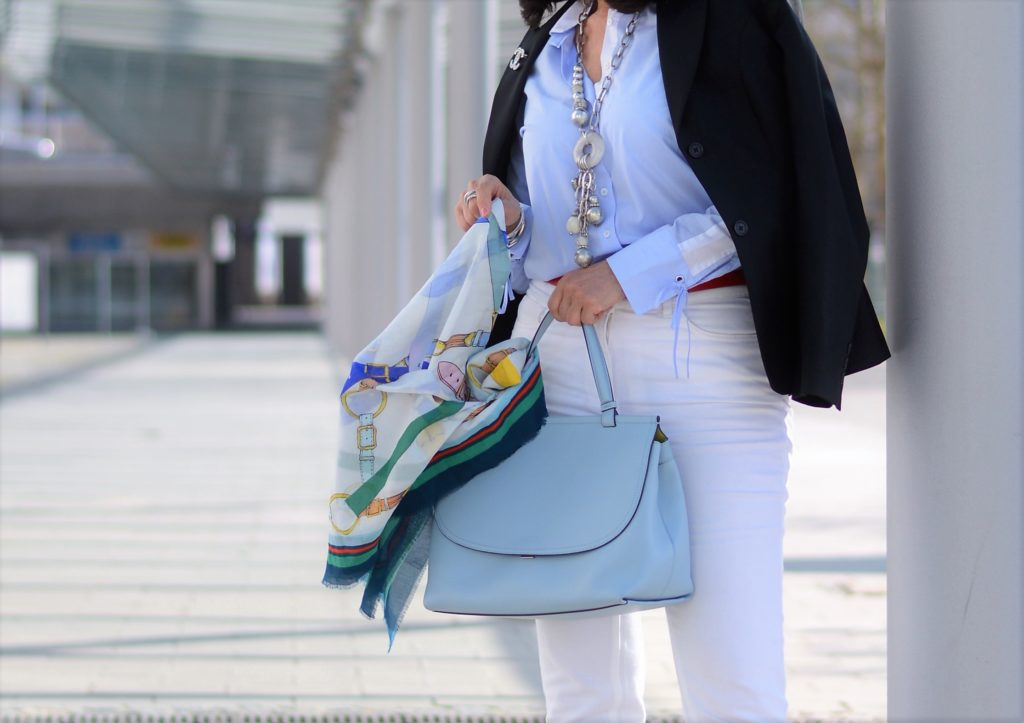 Blaue Tasche von Meggy K