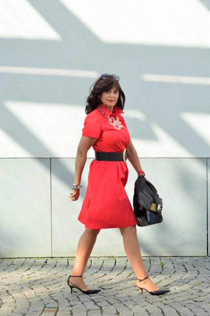 Ein Rotes Kleid Lady In Red Martina Berg Lady 50plus