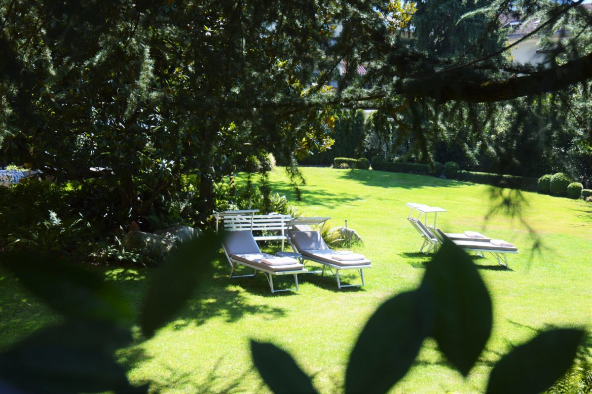 Liegewiese Park Hotel Mignon