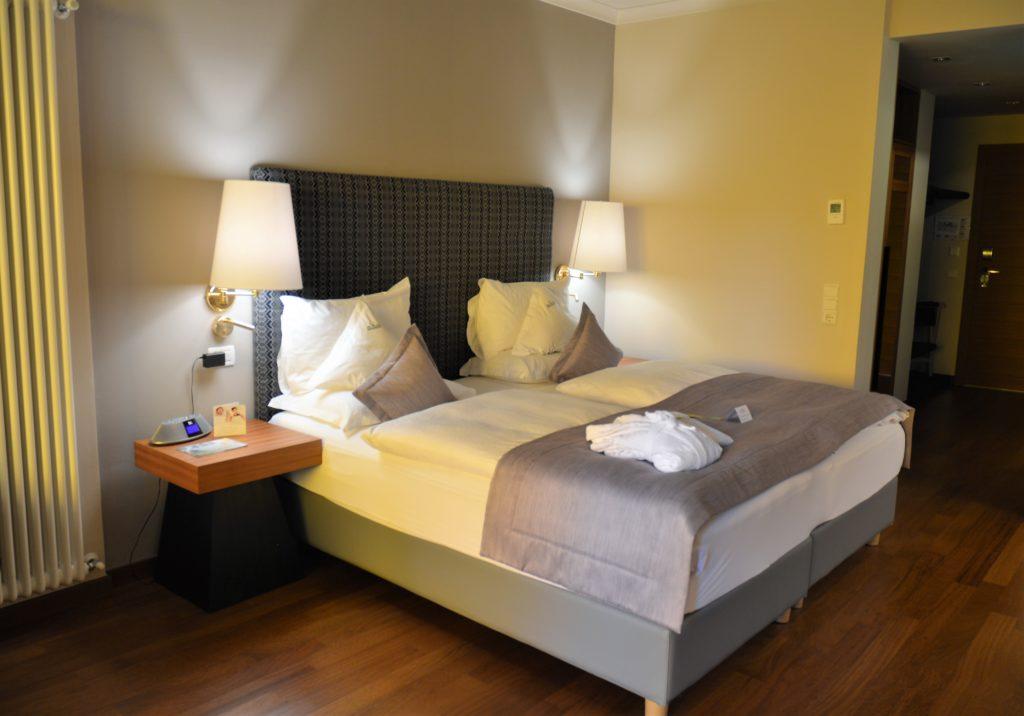 Bett im Park Hotel Mignon