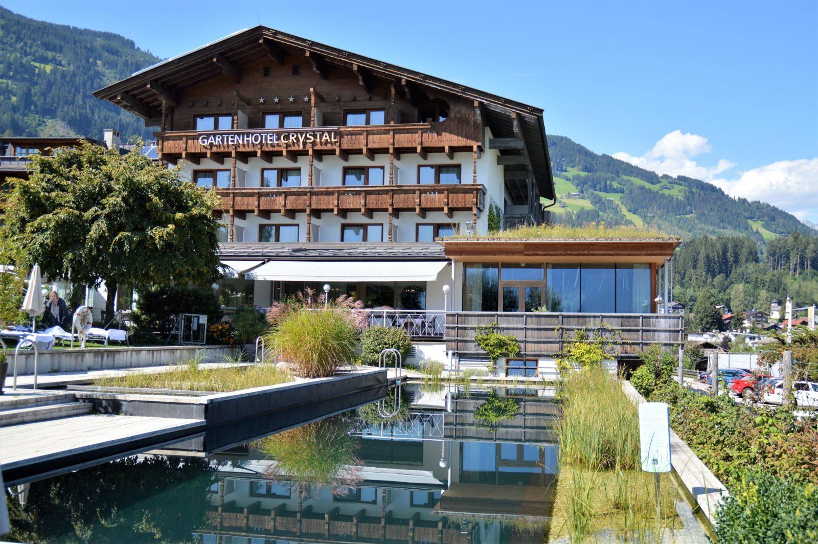 Gartenhotel Crystal in Fügen in Tirol