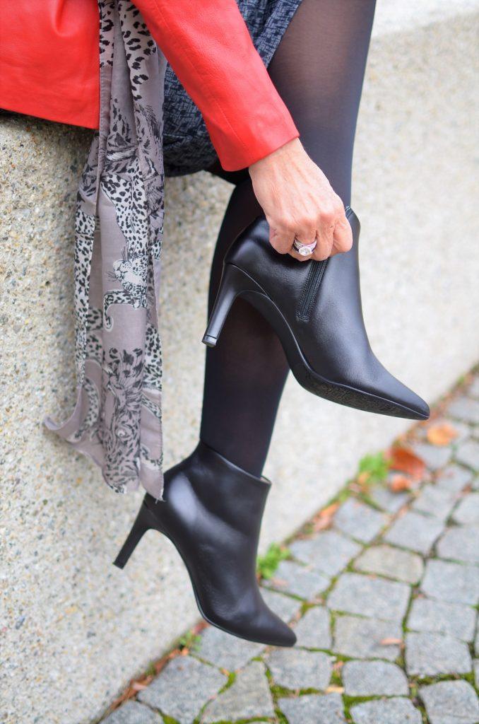 7 Looks für 7 Tage im November mit Stiefeletten