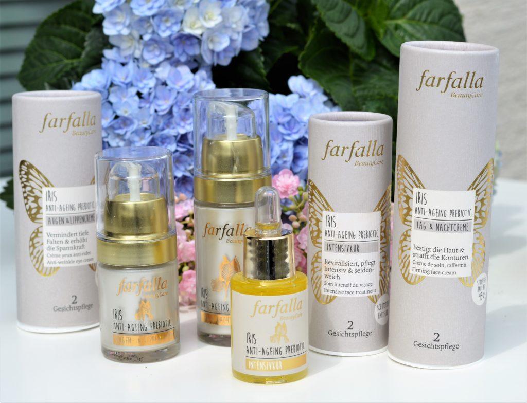 FARFALLA Kosmetik: Die Iris Anti-Ageing Linie für reife Haut